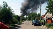 Донецьк потерпає від сильної пожежі