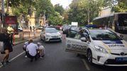 Поліцейські в Одесі збили жінку: опубліковані фото з місця ДТП
