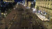 Центр Киева заполнили военные – эффектное видео репетиции парада