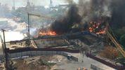 Крупный пожар полыхает в Ростове: в городе введено ЧП