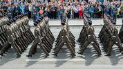 Военный парад в Киеве: самые эффектные фото