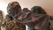 Українські снайпери приміряли новий бойовий комплект: фото