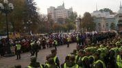 Мітинги під Радою: активістам дозволили забрати апаратуру із заблокованого авто