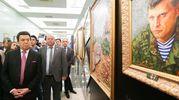 Захарченко та Путін: українська художниця відкрила у Держдумі провокативну виставку