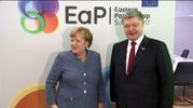 Про що Порошенко говорив із Меркель в рамках брюссельського саміту