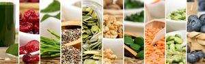 Шесть шагов для здорового питания: инфографика