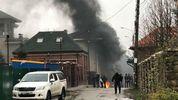 Неизвестные подожгли шины у дома экс-министра Ставицкого