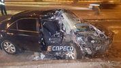 У Києві сталась моторошна аварія: пасажира насмерть задавило в машині