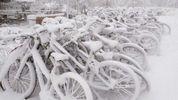 Дніпро замело снігом: у мережі публікують фото зимової казки