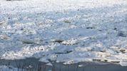 Річка Десна на Київщині перетворилась у крижане поле: є фото