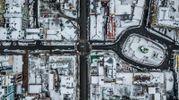 Таким ви його ще не бачили: зимовий Київ у дивовижних фото з дрона