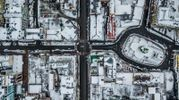 Таким вы его еще не видели: зимний Киев в удивительных фото с дрона