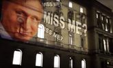 Большая проекция с лицом Путина появилась на здании МИД Великобритании: видео