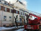 У Чернівцях загорівся транспортний коледж, центр міста знеструмлено