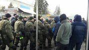 """Полиция и Нацгвардия заблокировали """"Национальный корпус"""" в центре Киеве"""