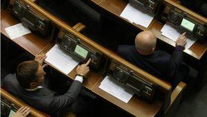 Стало відомо, хто голосував за скандальний закон про конвертацію кредитів