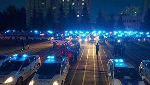 Новая патрульная полиция задержала первого нарушителя