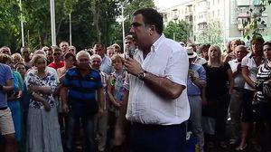 Саакашвілі на публіці викрив брехню російської пропаганди