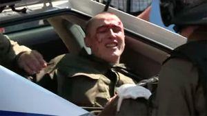 Появилось видео, как полиция забирает раненых после столкновения под Радой (18+)