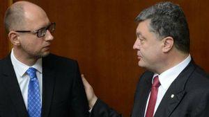 Порошенко надіслав гнівного листа Яценюку і Шокіну