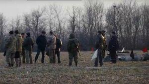 Обнародовали видео с места крушения военного вертолета Ми-2