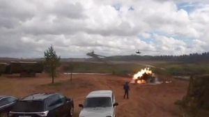 """Під час навчань """"Захід-2017"""" російський вертоліт Ка-52 завдав авіаудару по глядачах, – ЗМІ"""