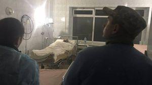 """Учасник """"прориву"""" Саакашвілі впав в кому після оголошення йому рішення суду"""
