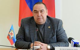 У мережі оприлюднили відео прибуття Плотницького до Москви