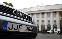 Украинцы активно ищут литовские автомобили