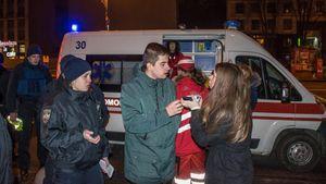 Кривавий конфлікт: у центрі Києва працівники піцерії побили відвідувачів