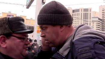 У Москві агресивні перехожі намагалися завадити проведенню акції в підтримку України