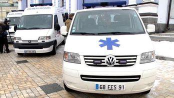 Філарет передав на передову карети швидкої допомоги