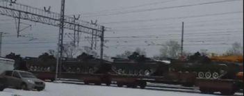 В Росії залізницею перекидають військову техніку