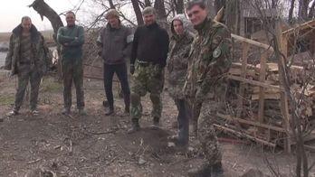 """Фонд """"24"""" привез помощь бойцам в сектор М"""