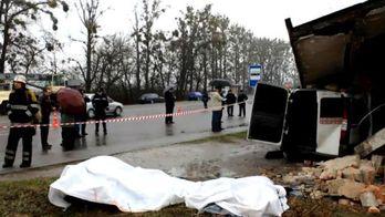 З'явилось відео з місця жахливої аварії на Львівщині