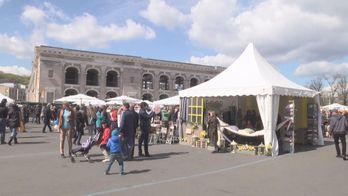 В Киеве сегодня продавали исключительно украинские товары