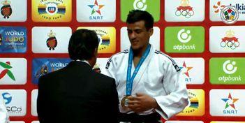 Украинский дзюдоист победил на элитном турнире в Марокко