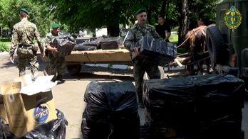 Из Украины хотели незаконно вывезти сигареты