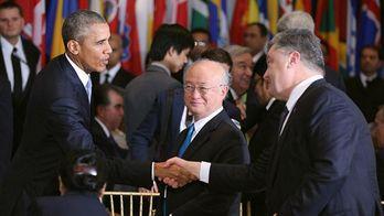 Обама и Порошенко очень похожи