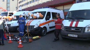 Українські рятувальники похизувалися новенькою технікою