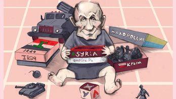 У Путина появилась новая игрушка. Мировые СМИ о событиях в Сирии и в Украине