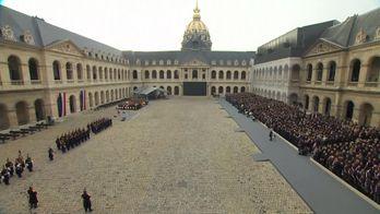 Французи на найвищому рівні вшанували пам