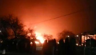 Потужний вибух пролунав у Грозному