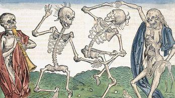 В Мексике появились тысячи скелетов на улицах