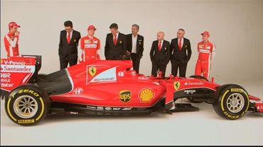 """Формула-1. """"Феррарі"""" представила болід зразка 2015 року"""