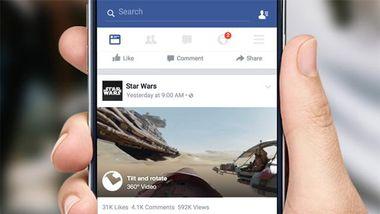 В ленте новостей Facebook можно будет смотреть 360-градусное видео