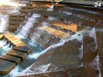 Fort Worth - фонтан, в который можно войти
