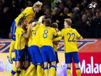 Група D: Збірна Швеції