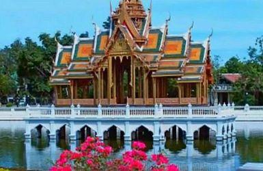 Дворцы Таиланда: в главной резиденции страны выращивают рис и рыбачат