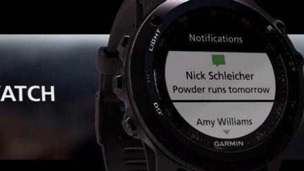 """Американцы представили """"умные"""" часы для спортсменов и для туристов"""
